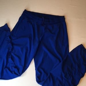 Under Armour ruched Royal  blue studio pant